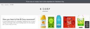 b-corp companies Innocent, Pukka, Ella's Kitchen and Ecover