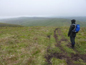 Business sales review - Sales Untangled team hiking in the moors